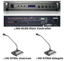 Multifunction Desktop Conference System HS-9100 HS-9700 Series